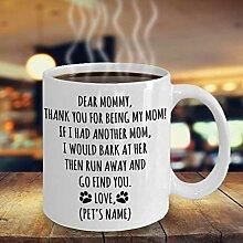 Hund Mutter personalisierte Geschenke, Hund Mutter