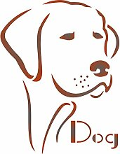 Hund Schablone,-wiederverwendbar Tier Animal