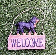 Hund Welcome/Deko / Gartendeko/Dekoration / Tiere