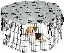 Hunde-Laufgitter-Abdeckung für drinnen und