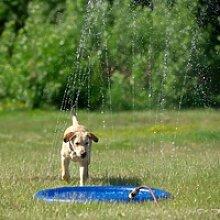 Hunde Wasserspielzeug Splash Pool Water Sprinkler