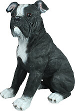 Hundefigur American Bulldog Hund Amerikanische