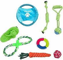 Hundespielzeug für Welpen, 8 Packungen,