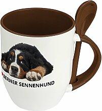 Hundetasse Berner Sennenhund - Löffel-Tasse mit