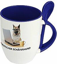 Hundetasse Deutscher Schäferhund - Löffel-Tasse