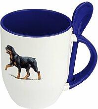 Hundetasse Rottweiler - Löffel-Tasse mit