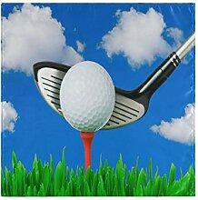 Hunihuni Sport Golf Ball Tischdecke Serviette