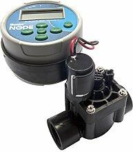 Hunter 55147–Programmierer von Bewässerung batteriebetrieben Knoten, 1Station, mit Magnetventil