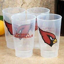 HUNTER NFL Arizona Cardinals Kunststoffbecher, 473