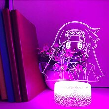 Hunter X Hunter ALLUKA ZOLDYCK 3D LED Anime Lampe