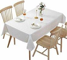 Hunterace PVC-Tischdecke, rechteckig, für die