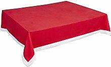 Hunterace Vlies-Tischdecke Weihnachten Rot