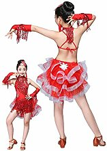HUO FEI NIAO Latin Dance Costumes Kinder Mädchen