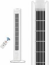 HUO Ventilator Swing Portable Tower Fan mit