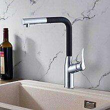 HUSHUN Wasserhahn, Einhebel-Küchenarmatur aus