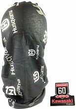 Husqvarna Trekkingtuch Schlauchschal Multifunktionstuch grau inkl. Aufkleber Kawasaki