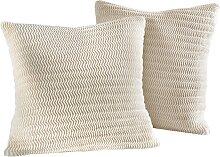 Husse Adria, beige (2-Sitzer-Sofa 120-160/70-100 cm)