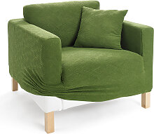 Husse Ethno, grün (3-Sitzer-Sofa 200 cm)
