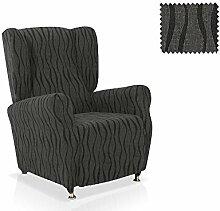 Husse für Ohrensessel Gelada Größe 1 Sitzer (Standard), Farbe Schwarz (Mehrere Farben verfügbar)