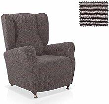 Husse für Ohrensessel Granadella Größe 1 Sitzer (Standard), Farbe Grau (Mehrere Farben verfügbar)