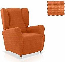 Husse für Ohrensessel Moraig Größe 1 Sitzer (Standard), Farbe Orange (Mehrere Farben verfügbar)