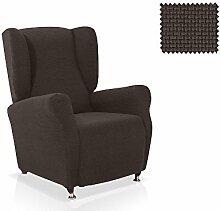 Husse für Ohrensessel Portitxol Größe 1 Sitzer (Standard), Farbe Schwarz (Mehrere Farben verfügbar)
