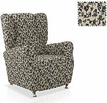 Husse für Ohrensessel Saldonar Größe 1 Sitzer (Standard), Farbe Grau (Mehrere Farben verfügbar)