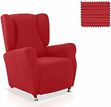 Husse für Ohrensessele Vulcano Farbe Rot Standardgröss (mehrere Farben verfügbar)