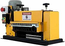 HuSuper Draht Abisoliermaschine elektrische Abisoliermaschine 220V schälen und schneiden Maschine Multi-Loch-Abisolierzange Abisolierzange Computer-Abisolierwerkzeug (Gelb)