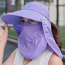 Hut Frau Sonnenblende Sonnenschutz UV Sonnenschirm
