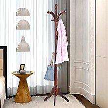 Hut Rack Solid Holz hängen Kleiderbügel Schlafzimmer Einfache Hut Rack ( Farbe : P )