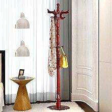 Hut Rack Solid Holz hängen Kleiderbügel Schlafzimmer Einfache Hut Rack ( Farbe : H )