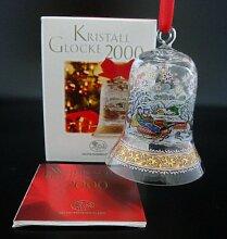 Hutschenreuther Kristall Glocke 2000*Rarität*Neu,