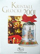 Hutschenreuther Kristall Glocke 2001*Rarität*Neu,