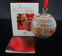 Hutschenreuther Kristall Kugel 2000, Glaskugel,