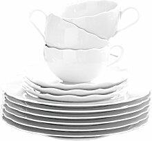 Hutschenreuther Porzellan-Set, Weiß