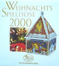 Hutschenreuther Weihnachtsspieldose Spieluhr