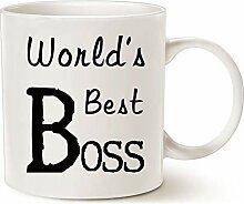 HUYHUY Der Beste Chef Der Welt Kaffee-Haferl