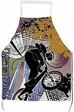 Huyotop Erwachsenenschürze, normale City Biker,