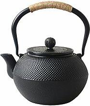 Hwagui - Beste Gusseisen-Teekanne mit Teesieb für