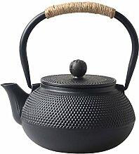 Hwagui Japanische Teekanne aus Gusseisen mit