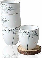 HwaGui4 Stück chinesischen Porzellan Tasse Set