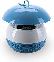 HWF Anti-Moskito-Lampe Keine Strahlung Effiziente Insektenschutz Blaue Pulver Anti-Moskito-Lampe ( Farbe : Blau )