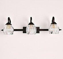HWF Spiegellampen European Style Mirror Front Light Led Badezimmer Spiegel Schrank Lichter Dressing Tisch Spiegel Licht ( größe : 57cm )