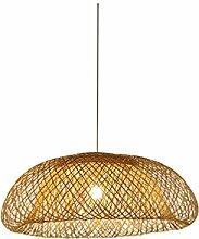 HWH Bambus Kronleuchter, Hotel Bambus Lampe Zen