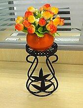 HWHJ Blumen-Rack, Iron Flower Stand, Office-Desktop-Blumen-Rack, Multi-Fleisch-Pflanze Flower Rack, Mini-Blumen-Rack Ornamente Ornamente Kreative Blumenregale ( Farbe : 3* )