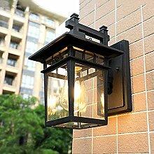 Hwhwxs Vintage Außenwandleuchte Rund Wandlampe