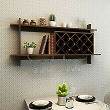 HX Moderner einfachen Wein-Schrank Rack-hängende