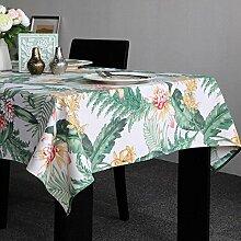 HXC Home 135 * 135cm grün Blatt Skandinavisch