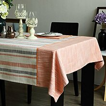HXC Home 140 * 220cm orange Skandinavisch modern